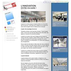 L'innovation entre en gare - Exposition « L'observatoire des innovations » à la Cité des sciences