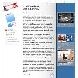 L'innovation entre en gare, p2 - Exposition « L'observatoire des innovations » à la Cité des sciences