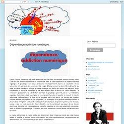 Observatoire International du Numérique: Dépendance/addiction numérique