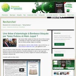 Tareq Oubrou – Observatoire de l'islamisation