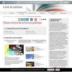 L'Observatoire de la lecture publique : présentation