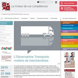 OPCA-TRANSPORTS - Observatoire des métiers du transport routier de marchandises