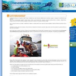 Observatoire Marin - Campagnes écogestes pour la Méditerranée