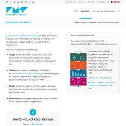 Observatoire des métiers - IMT