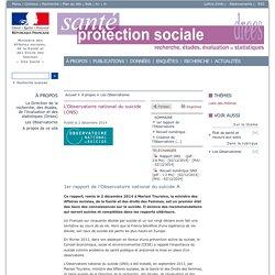 L'Observatoire national du suicide (ONS)