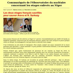 07/01/2011 deux français otages d'AQMI