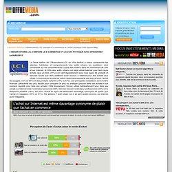 e-commerce et achat physique