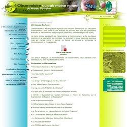 Un réseau d'acteurs - Observatoire du patrimoine naturel du Marais poitevin
