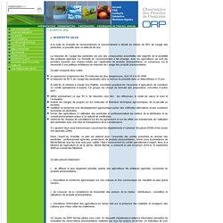 Observatoire des Résidus de Pesticides