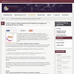 L'IFEC rejoint l'Observatoire de l'Immatériel et engage les professionnels du chiffre