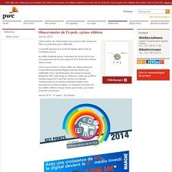 Observatoire de l'e-pub, 13ème édition