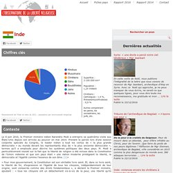 Inde - L'Observatoire de la Liberté Religieuse