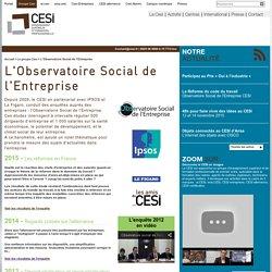 L'Observatoire Social de l'Entreprise