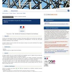 Observatoire des Aides Entreprises Bons de souscription de parts de créateur d'entreprise (BSPCE)