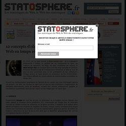 12 concepts d'observatoire de l'activité Web en temps réel