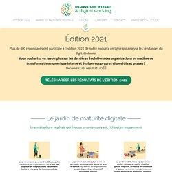 Observatoire de l'intranet - Enquête 2011 - Gouvernance – Intranet – Réseaux sociaux
