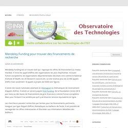 Veille collaborative sur les technologies de l'IST