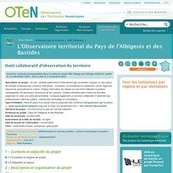L'Observatoire territorial du Pays de l'Albigeois et des Bastides