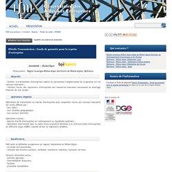 Observatoire des Aides Entreprises IDéclic Transmission : fonds de garantie pour la reprise d'entreprise