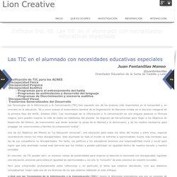 Las TIC en el alumnado con necesidades educativas especiales