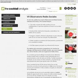 VII Observatorio Redes Sociales