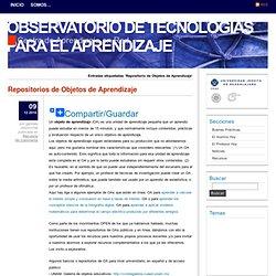 Observatorio de Tecnologías para el Aprendizaje » Repositorio de Objetos de Aprendizaje