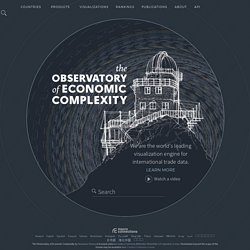 The Observatory of Economic Complexity ::