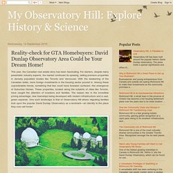 Why David Dunlap Observatory Area is Perfect to Buy Your Dream Home?