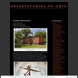 Observatories of Ohio