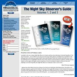 Night Sky Observer's Guide by George Kepple, Glenn Sanner, Jenni Kay amd Ian Cooper