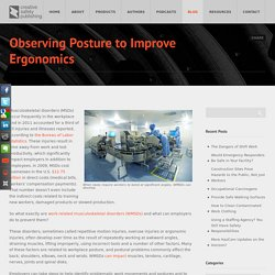 Observing Posture to Fix Ergonomics