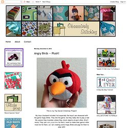 Angry Birds -- Plush!