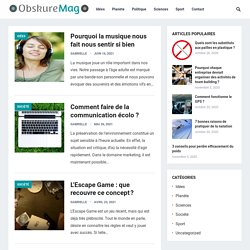 ObskureMag | Dark Global Media