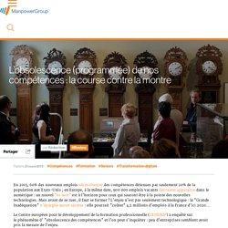L'obsolescence (programmée) de nos compétences : la course contre la montre