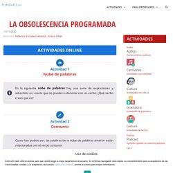 La obsolescencia programada » ProfeDeELE.es