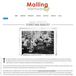 Is Direct Mail Obsolete?