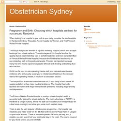Find the Best Obstetrician in Randwick
