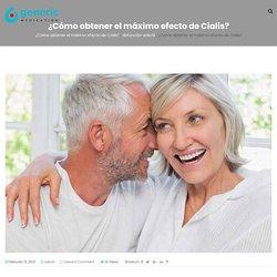 ¿Cómo obtener el máximo efecto de Cialis? - Medicamento genérico EE. UU.