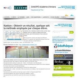 CDDP de l'Oise - Kanban : Obtenir un résultat, quelque soit la méthode employée par chaque élève.