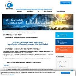Obtenir sa certification
