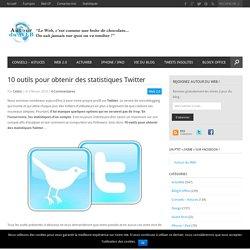 10 outils pour obtenir des statistiques Twitter