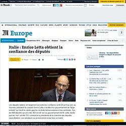 """Letta : """"L'Italie se meurt à cause de la seule austérité"""""""