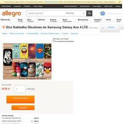Etui Nakładka Obudowa do Samsung Galaxy Ace 4 LTE (6405189061)