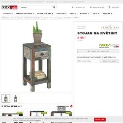 STOJAN NA KVĚTINY - Květinové stolky - Stoly do obývacího pokoje - Obývací pokoje - Produkty
