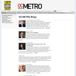 OC Metro Blogs