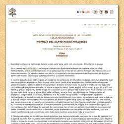 5 de mayo de 2013: Santa Misa con ocasión de la Jornada de las cofradías y de la piedad popular