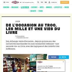 Libération - De l'occasion au troc, les mille et une vies du livre