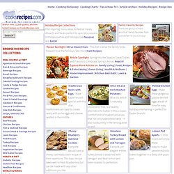 CooksRecipes.com - Recipes, Cooking Tips, Food, Meal Ideas, Menu Planning.