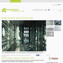 Ateliers Jean Nouvel-Inter-cultural Institut du Monde Arabe -Paris | mapolismagazin für Architektur