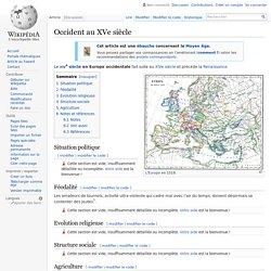 Occident au XVe siècle